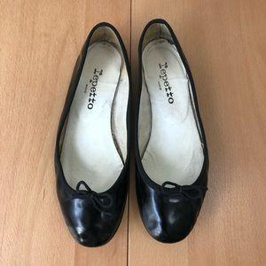 Repetto Leather Ballerinas Flats